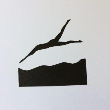 Three Swimming Mini Prints (1)