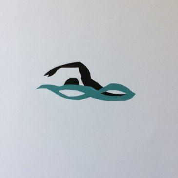 Three Swimming Mini Prints (2)